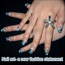 Nail art- a new fashion statement