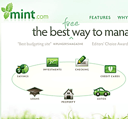 Mint.com - a truly impressive online money-manager.