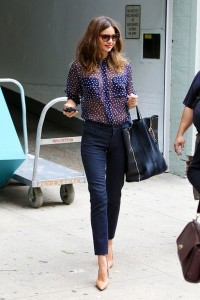 Miranda-Kerr-sheer-blouse-off-duty-look