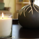 Light a scented candle
