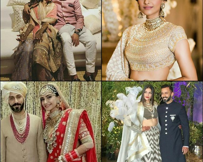 #Sonamkishaadi – Sonam kapoor's wedding was not less than a fashion runway